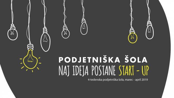 Podjetniška šola: Naj ideja postane start-up
