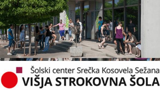 Prijava na Višjo strokovno šolo Srečka Kosovela Sežana
