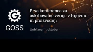 Prva konferenca za oskrbovalne verige v trgovini in proizvodnji