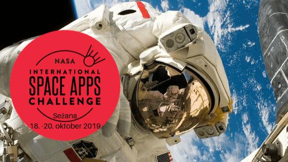 Nasa Space Apps Challenge v Sežani