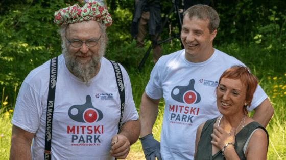 Fotoreportaža iz Mitskega parka
