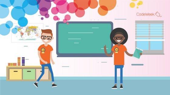Do digitalne družbe s Code Week