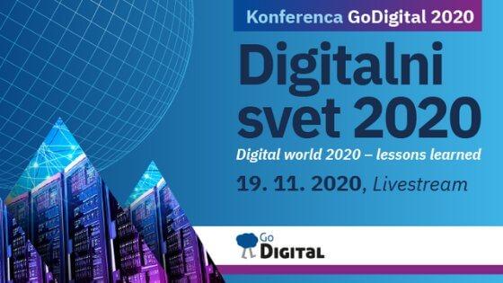 Spletna konferenca GoDigital 2020