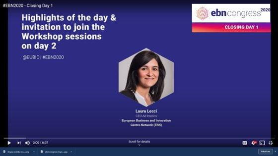 Posnetki kongresa EBN 2020